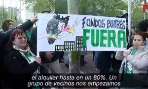 Arantxa Mejías, una guerra sin cuartel contra un fondo buitre que puede acabar en desahucio