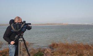 Destrozos en el Delta del Ebro tras el temporal