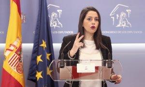 Arrimadas, dispuesta integrarse en las listas del PP gallego: