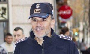 Joan Miquel Mut, en 2015, cuando fue imputado e interrogado por la jueza del Instrucción 12 de Palma, por haber expedientado a un agente con el fin de tapar irregularidades en el cuerpo.