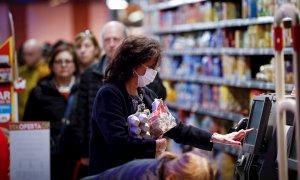Primeros positivos en coronavirus de trabajadores de supermercados