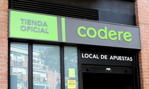Local de apuestas de Codere, en Madrid. E.P./Eduardo Parra