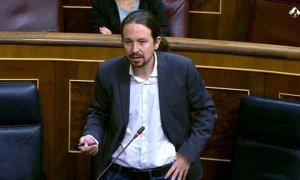 Iglesias acusa a PP de traición y Egea, de ser monaguillo de Sánchez