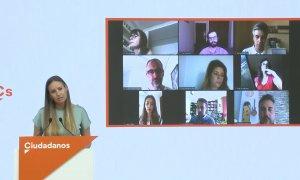 Cs expulsa a Evelyn Alonso tras apoyar la moción de censura en Santa Cruz