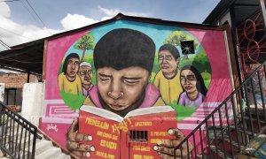 Grafiti en la Comuna 13.- QUERALT CASTILLO
