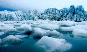 Terminal de salida del glaciar en el oeste de Groenlandia / Matt Osman