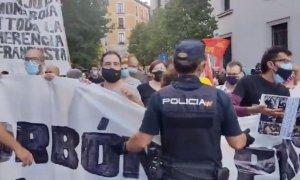 """Arranca la marcha para para exigir el fin de la """"monarquía corrupta"""" en España"""