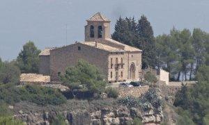 Iglesia Sant Pere de Castellfollit del Boix / Wikipedia
