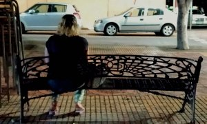 Lamya sale todas las noches para ejercer la prostitución en Melilla como única fuente de ingresos.- ROSA SOTO