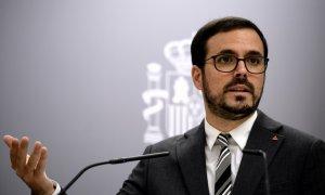 El ministro de Consumo, Alberto Garzón. Europa Press/O.CAÑAS.POOL/Archivo