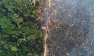 Imagen de los efectos de los incendios forestales en la Amazonia. REUTERS