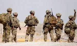 Tropas estadounidenses en la provincia de Uruzgan, Afganistán
