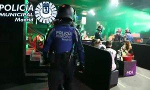 La Policía Municipal de Madrid continúa desalojando fiestas ilegales en la capital