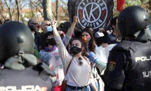 La falsa batalla electoral en Vallecas, un barrio tolerante que combate a la ultraderecha