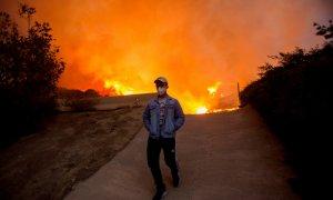 Incendio crisis climática