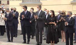 Los reyes inauguran el Centro Memorial de las Víctimas del Terrorismo