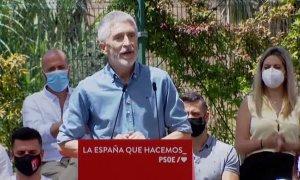 Marlaska, muy duro con el PP de Aznar: