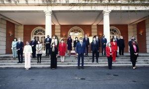 Estos son todos los ministros y ministras que entran y salen del Gobierno tras la remodelación de Sánchez