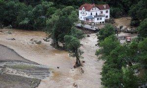 Imágenes de las inundaciones en Alemania.