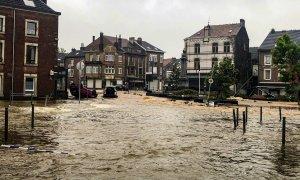 Inundación en Belgica.