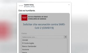 tratando de conseguir cita para vacunarse en Madrid, contado en un hilo