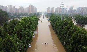 lluvias en china, inundaciones