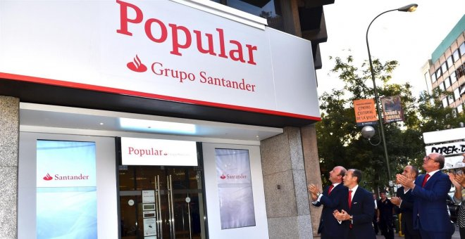 Santander empieza a integrar la marca Popular