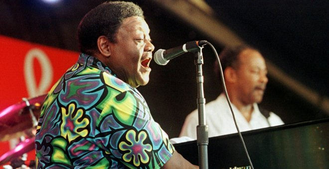 Fallece Fats Domino, uno de los grandes padres del rock and roll