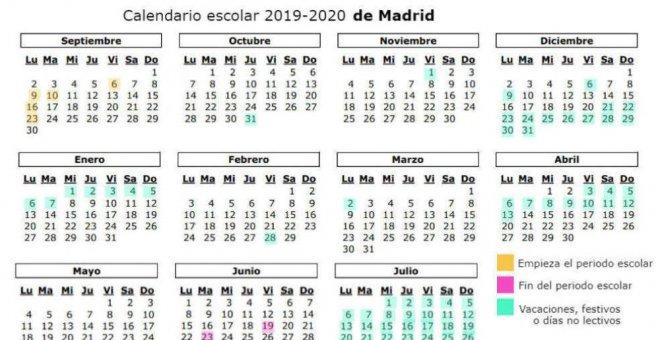 Calendario Escolar 2020 Madrid.Publico Temas Calendario Escolar