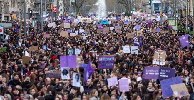 Un nou 8-M multitudinari confirma el feminisme com un moviment de masses
