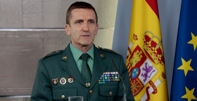 Interior nombra a José Manuel Santiago Marín jefe del Estado Mayor de la Guardia Civil