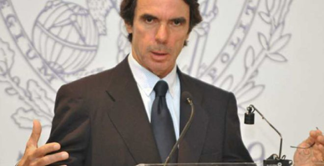 "Aznar, ""distinguido erudito en liderazgo global"""
