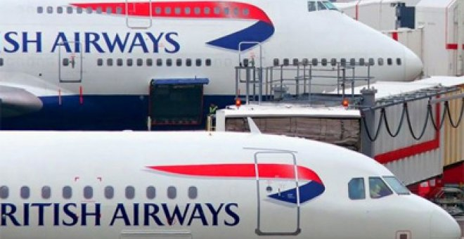 British Airways pierde 420 millones en el último año