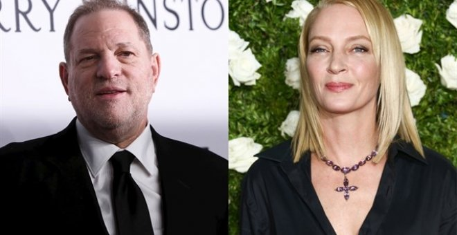 "Uma Thurman rompe su silencio sobre Harvey Weinstein: ""No mereces ni una bala"""