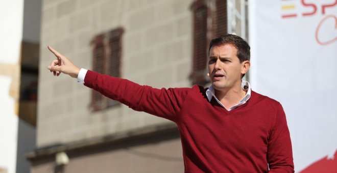"Rivera, en Altsasu: ""Cuando agreden a un guardia civil intentan liquidar al Estado"""