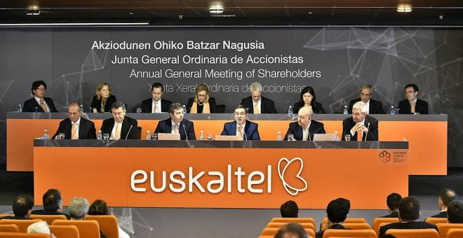 Euskaltel despide a tres altos cargos, entre ellos, su director financiero