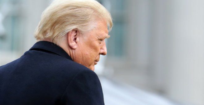 La defensa de Trump amenaza con una nueva guerra civil si continúa el 'impeachment'