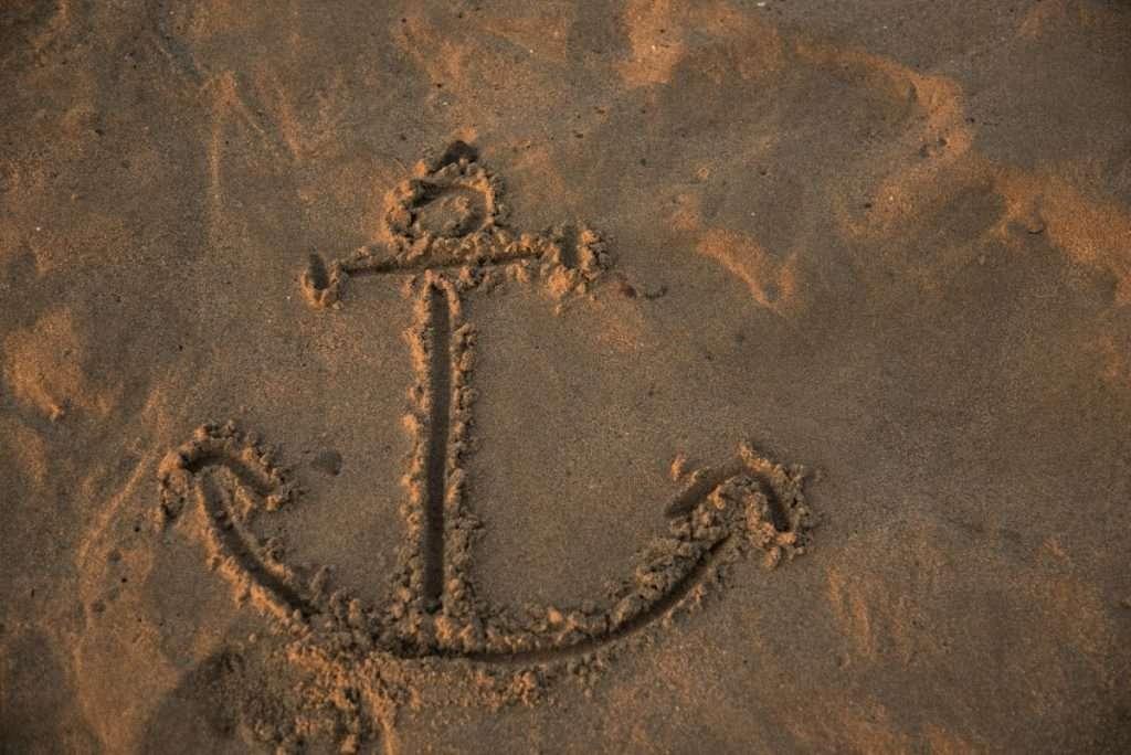 dibujo en la arena