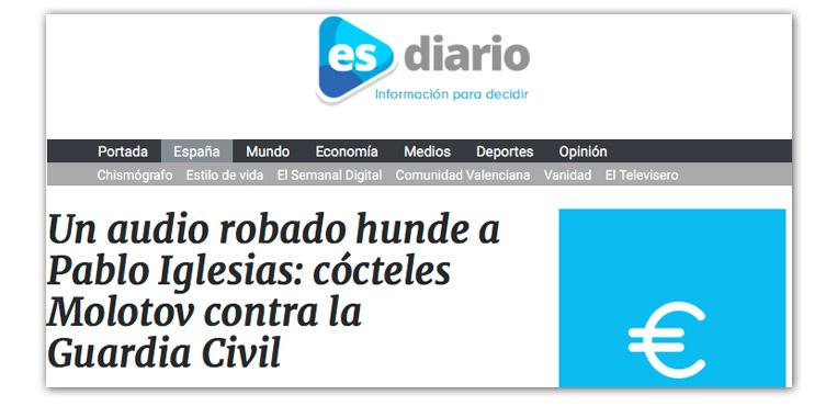 El bulo sobre Pablo Iglesias que han difundido varios medios (y el Partido Popular)