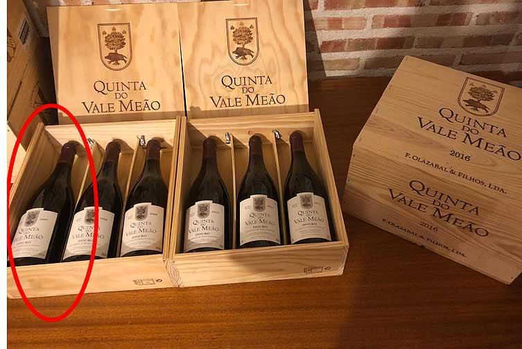 Esta botella cuesta, ella solita, 230 euros.