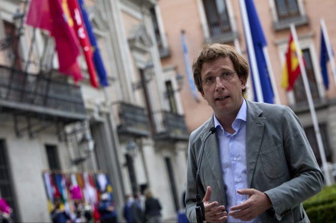 Imagen de archivo del alcalde de Madrid, José Luis Martínez Almeida. - Jesús Hellín / EUROPA PRESS