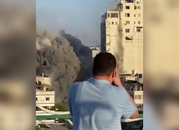 Captura del vídeo de Yousef Alhelou. - TWITTER