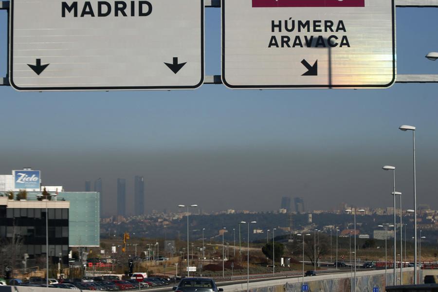 La contaminación de riesgo en Madrid alcanza ya casi el mismo nivel ... ca93041f061