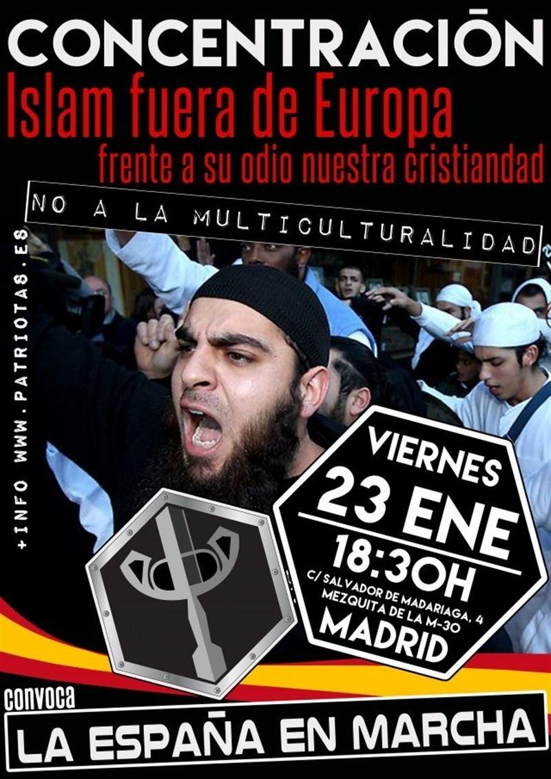 Cifuentes Proh 237 Be Una Manifestaci 243 N Contra El Islam Frente border=