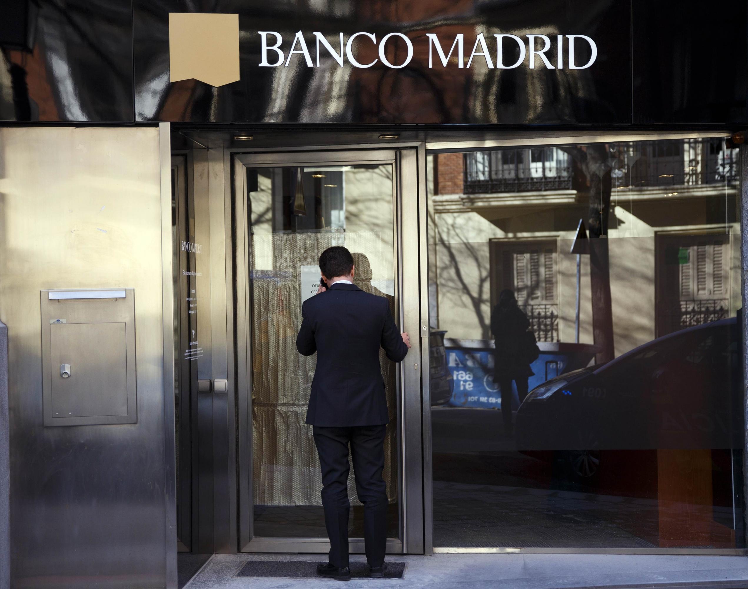 El juez pregunta al frob si va a rescatar a banco madrid o for Oficina 42 madrid