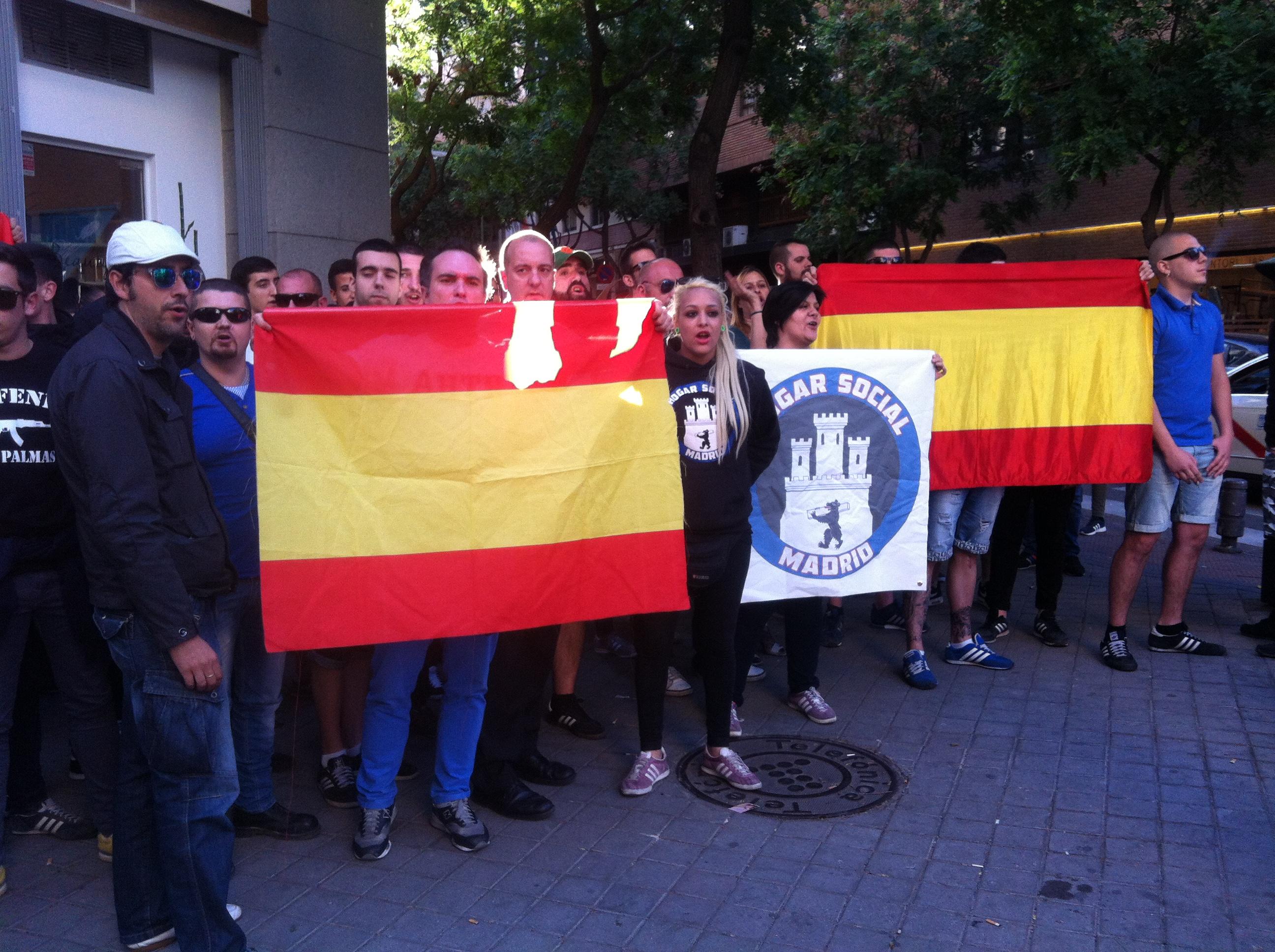 Ultras Del Hogar Social Madrid No Somos Nazis Somos Socialistas Publico