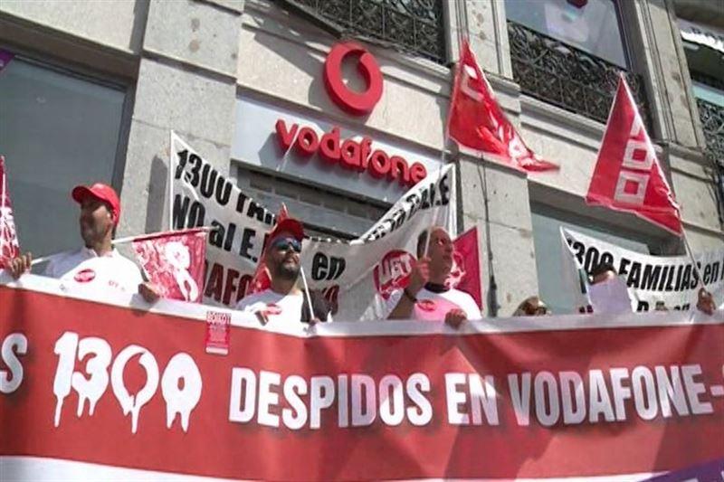 Los Sindicatos Amenazan Con Una Huelga En Vodafone El 21