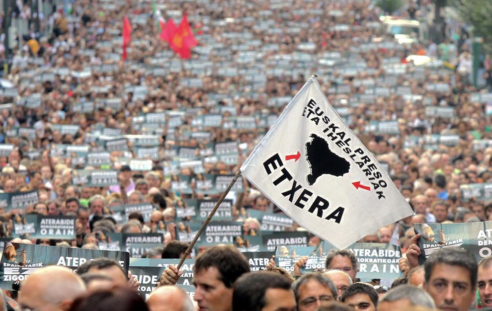 Resultado de imagem para manifestacion presos euskadi