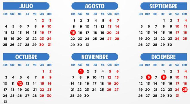 Calendario Laboral Comunidad Valenciana.El Calendario Laboral De 2016 Permitira Puentes Mas Largos El
