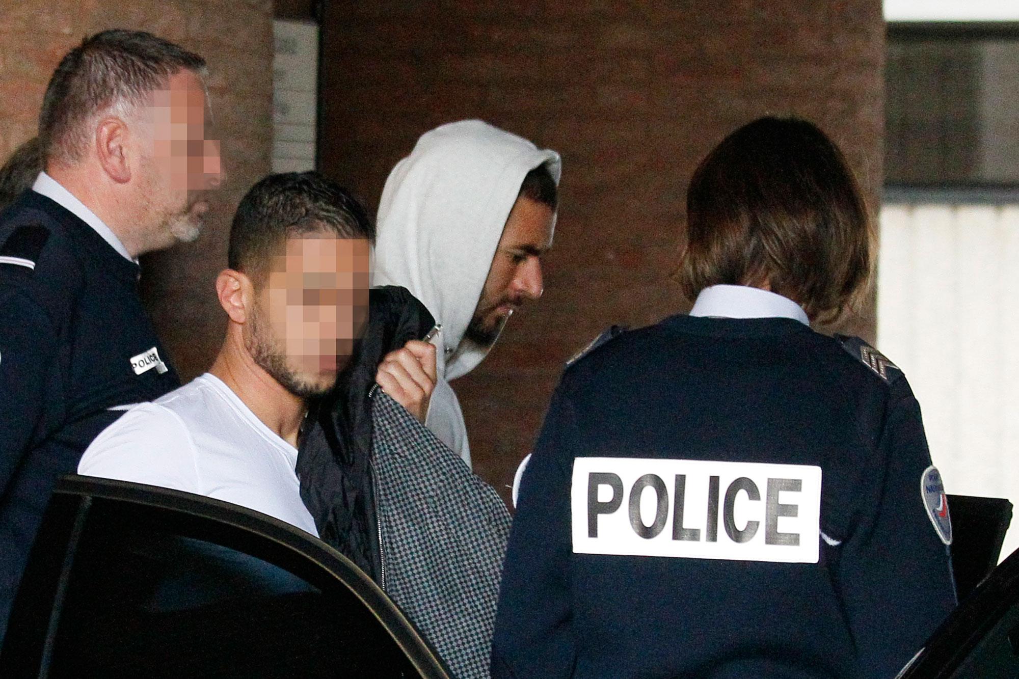 Benzema, imputado por ser cómplice en el chantaje sexual a Valbuena |  Público